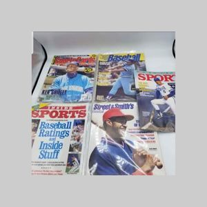 Vintage 1980's Baseball Magazines Ozzie Smith